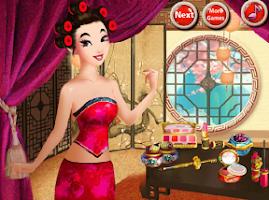 Screenshot of Asian Princess Makeover