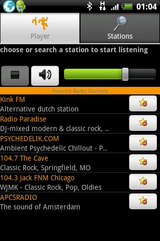 Yourmuze.FM- screenshot
