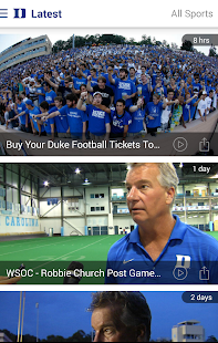 Duke Blue Devils- screenshot thumbnail