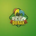 Russian durak (дурак) logo