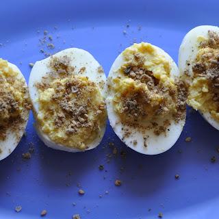 Dukkah Deviled Eggs