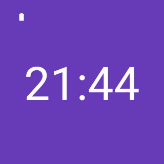 DigiWatch for Android Wear- screenshot
