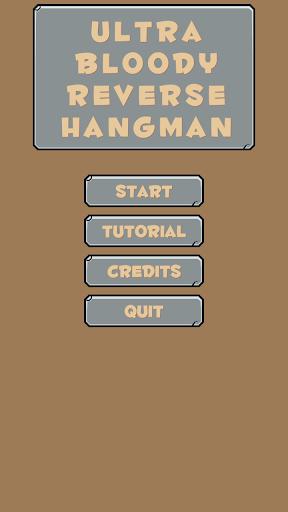 Ultra Bloody Reverse Hangman