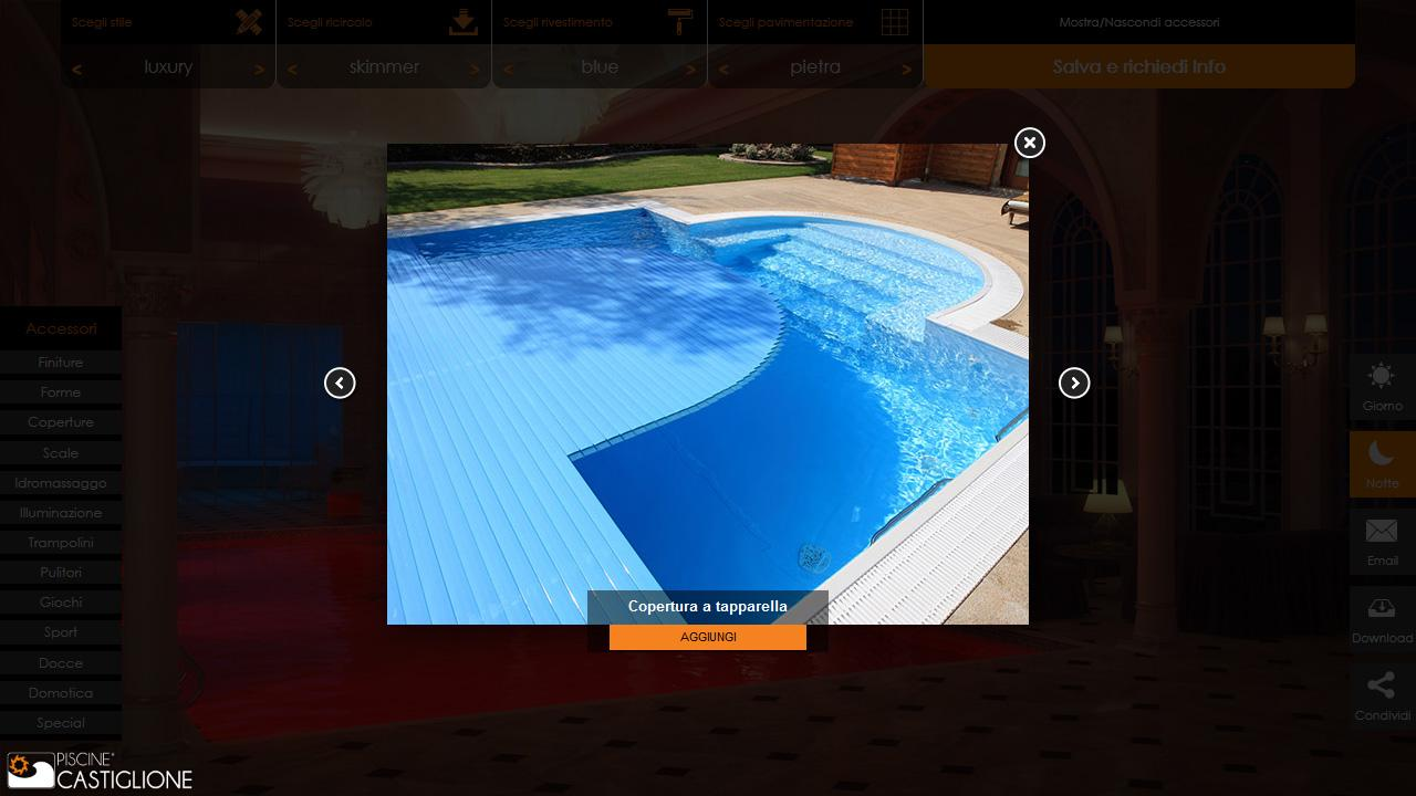 Configuratore Piscine- screenshot