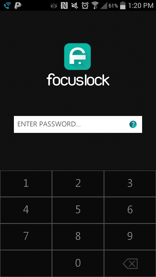 Focus Lock - screenshot