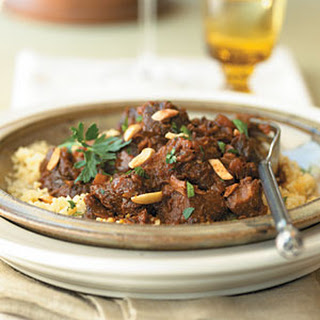 Apricot and Lamb Tagine.