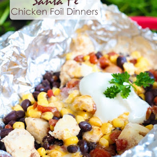 Santa Fe Chicken Foil Dinners