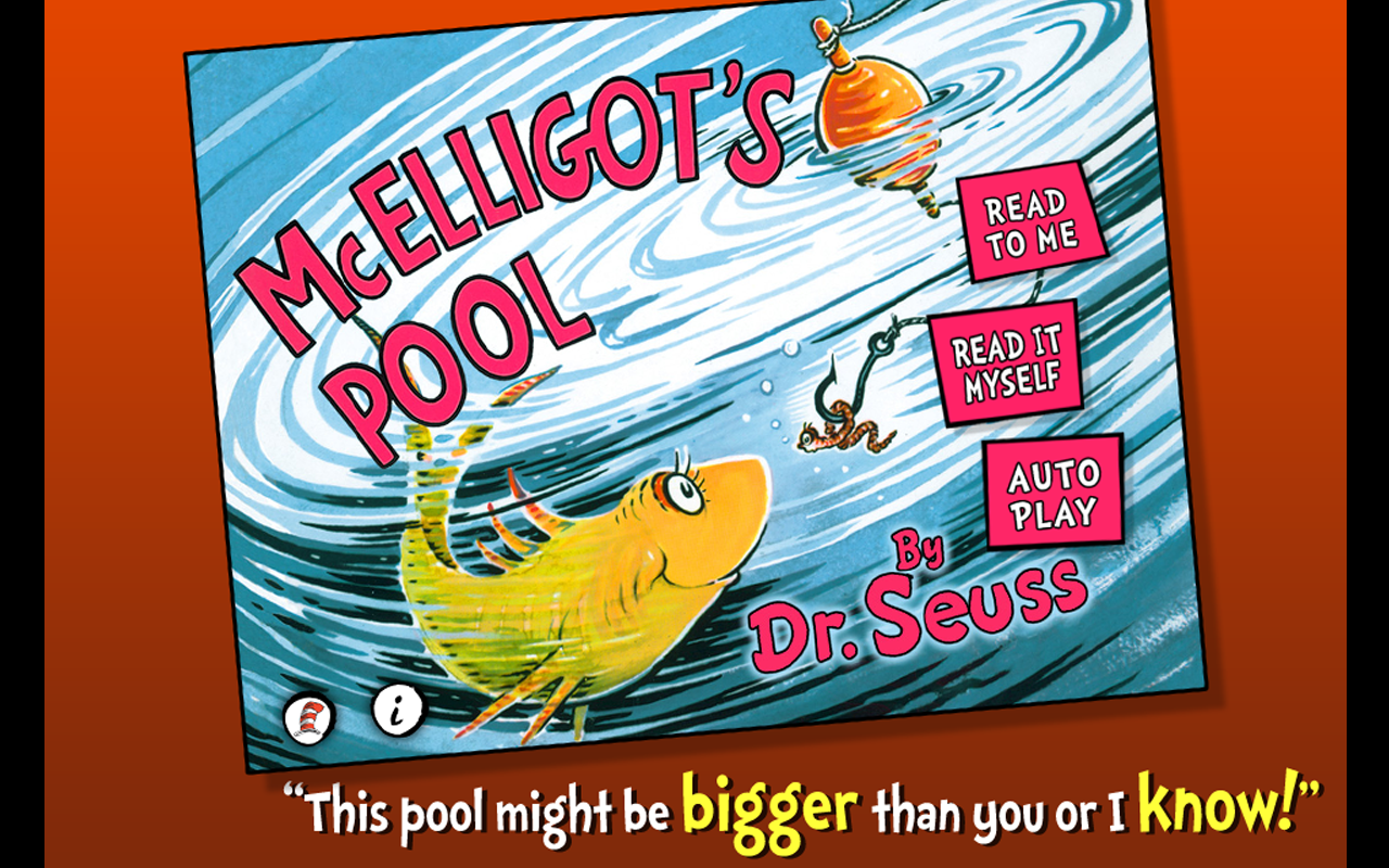 McElligot's Pool - Dr. Seuss- screenshot