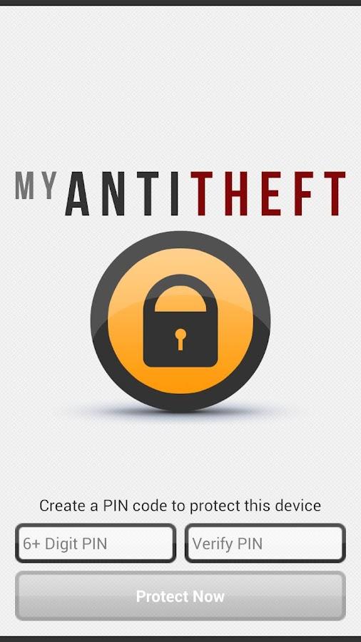 My AntiTheft & Antivirus - screenshot