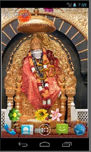 Shirdi Sai Baba HD LWP - screenshot thumbnail