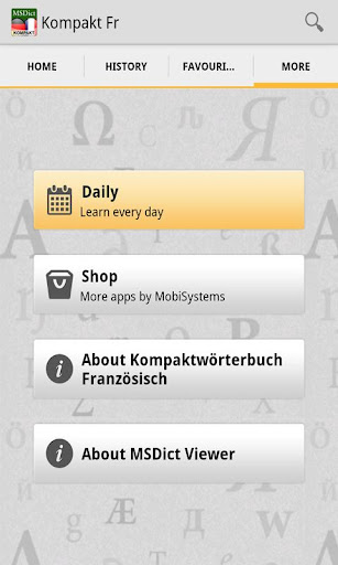 Dictionary FrenchGerman TR