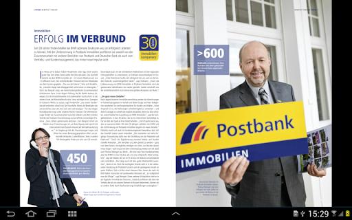 bankpost Mitarbeitermagazin