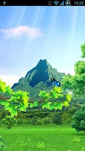 Seasons 3D Live Wallpaper - náhled