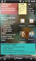 Screenshot of Simple Notepad