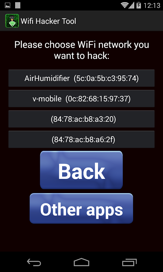 Wifi Hack tool for android mobiles Apk