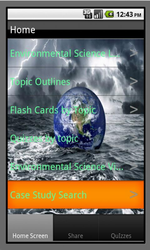 Environmental Science Buddy - screenshot
