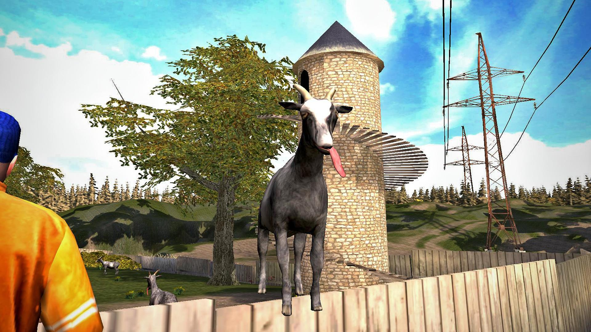 Goat Simulator screenshot #2