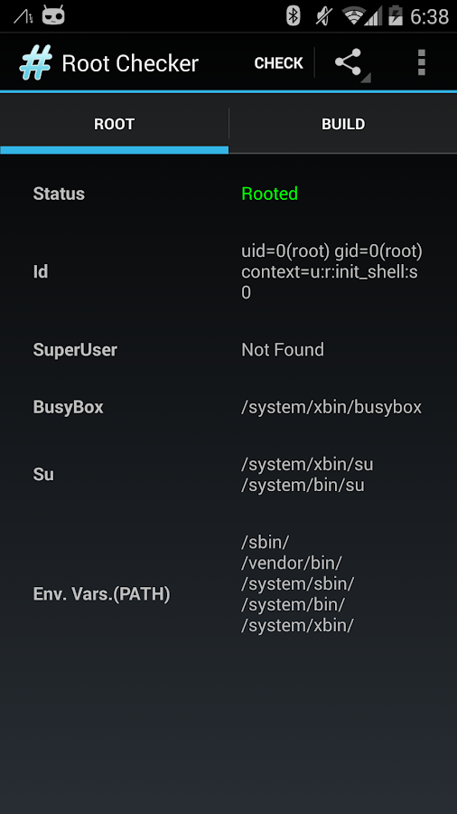 Root Checker Pro - screenshot
