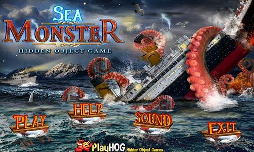 Sea Monster Free Hidden Object