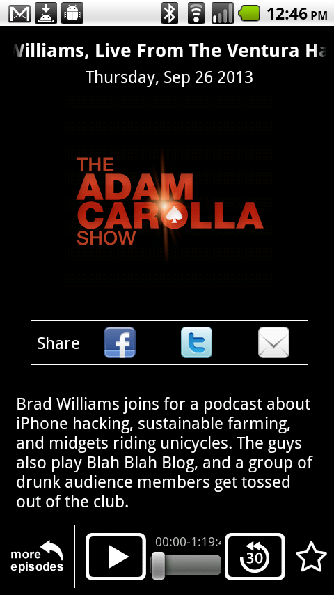 The Adam Carolla Show - screenshot