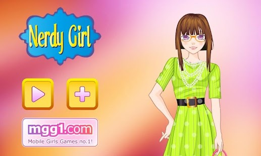 Nerdy Girl Dress Up - screenshot thumbnail