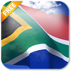 3D South Africa Flag Live Wallpaper icon