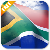 3D South Africa Flag LWP