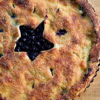 Classic Blueberry Pie.
