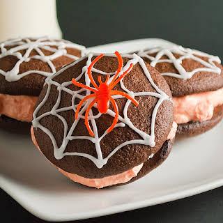 Spiderweb Whoopie Pies.