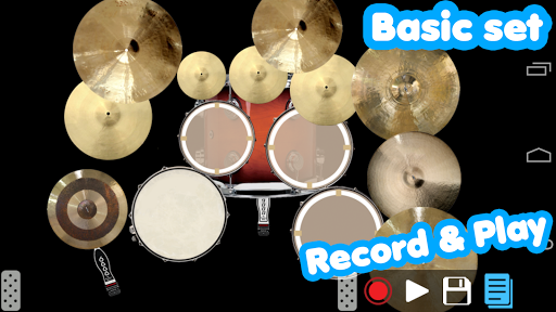 Drum set screenshot