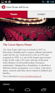 Gran Teatre del Liceu - screenshot thumbnail