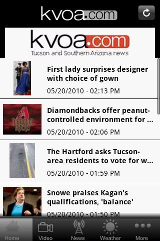 KVOA - screenshot
