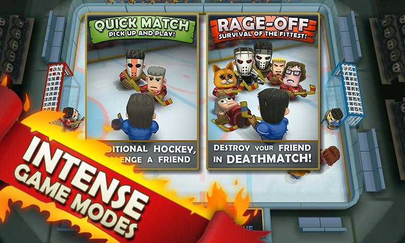 Ice Rage: Hockey- screenshot
