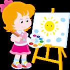 pintura Niños icon