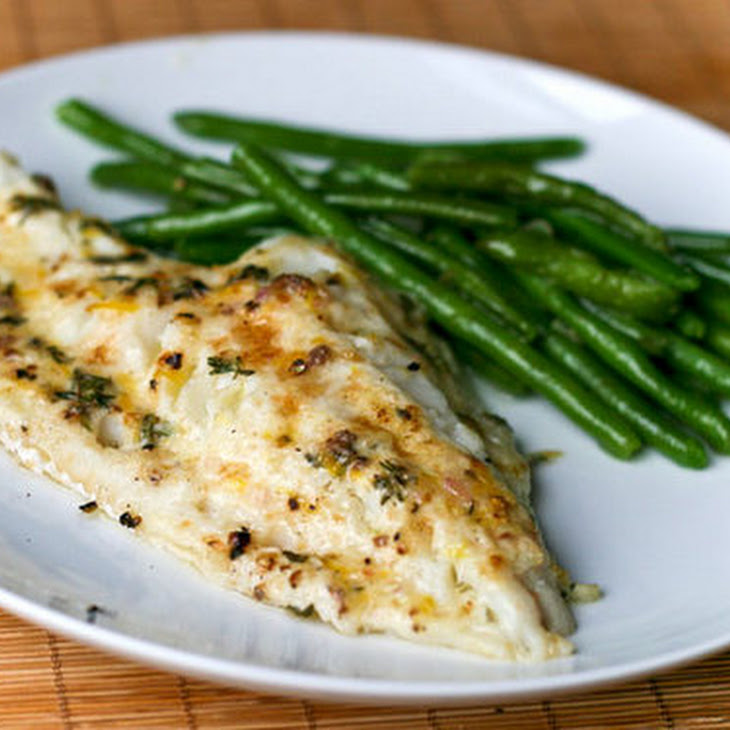 Broiled Cod with Lemon and Thyme Recipe