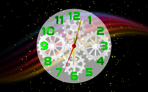 Space Clock 3D LWP