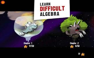 Screenshot of DragonBox Algebra 5+