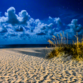 Night clouds by Diane Davis - Landscapes Beaches (  )