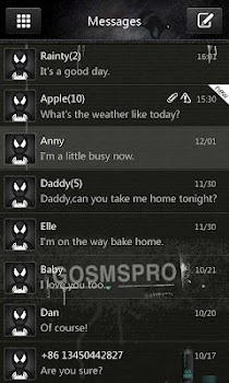 GO SMS Pro Thief Theme