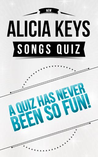 Alicia Keys - Songs Quiz