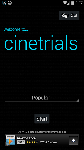 Cinetrials