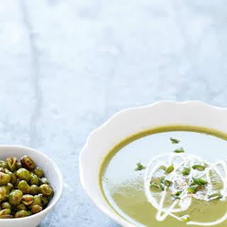 Silky Edamame Soup.