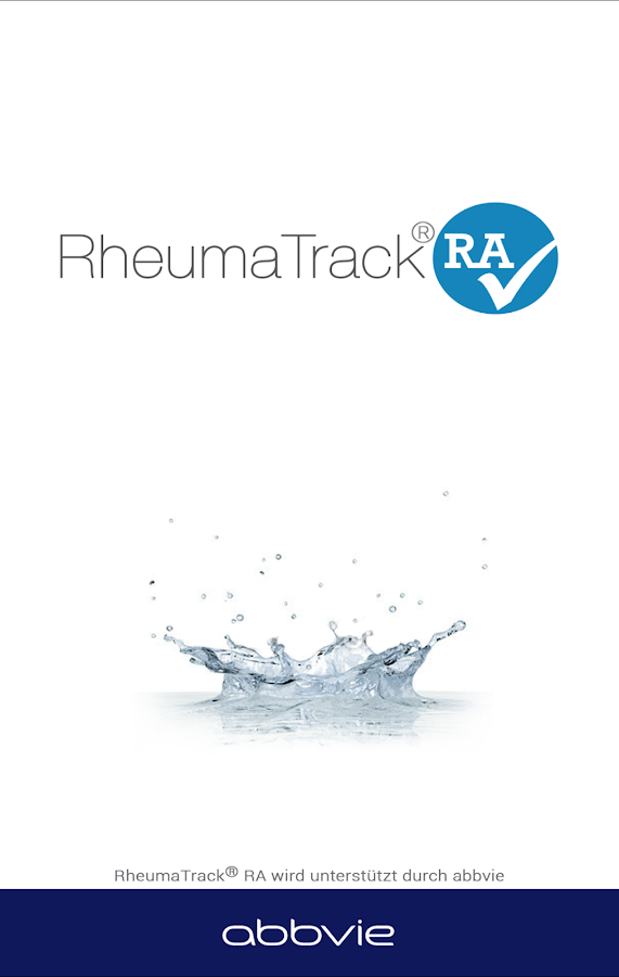 RheumaTrack® RA- screenshot