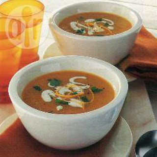 Carrot Soup With Orange.