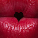 Red Lips Woman Live Wallpaper icon