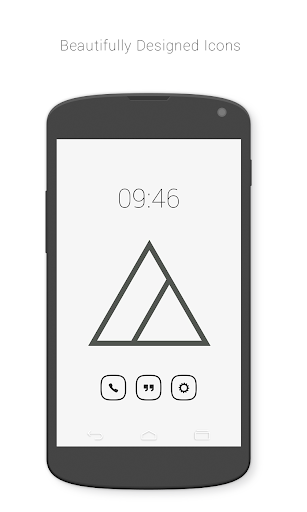 Banded Inverse Icon Pack