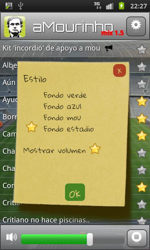 aMourinho mix - screenshot