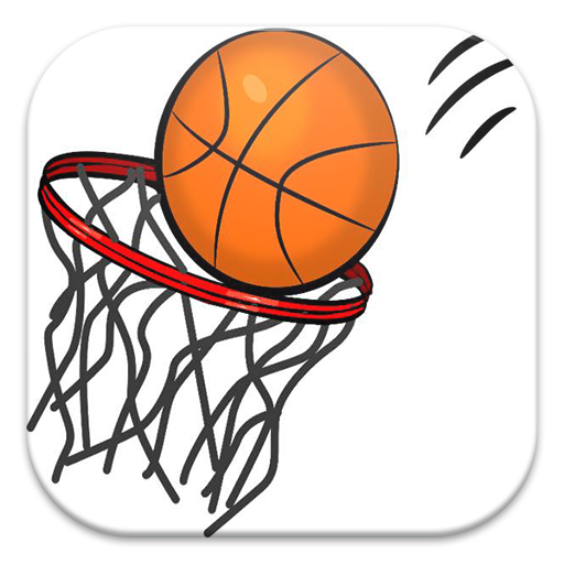 Flick basketball LOGO-APP點子