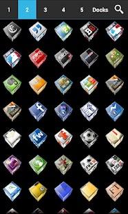 ADW APEX GO - 3D ICS Plates- screenshot thumbnail