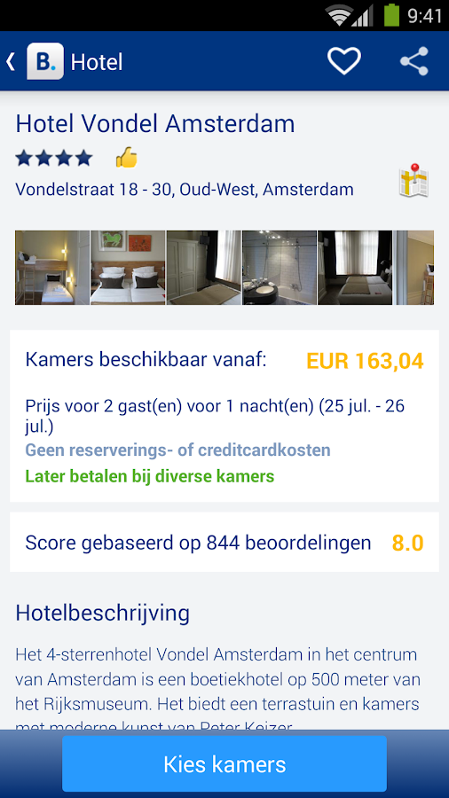 Booking.com - 445.000+ hotels - screenshot